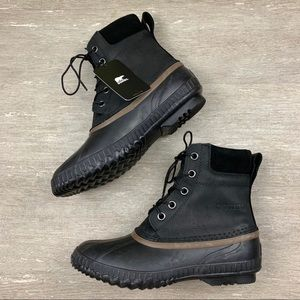 Men's Sorel Cheyenne Waterproof Lace Up Duck Boots